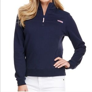 Vineyard Vines Women's Navy Shep Shirt